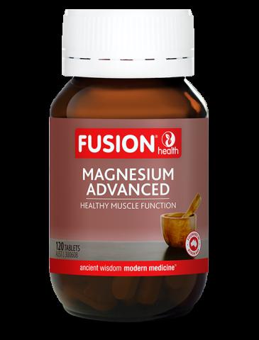 Fusion Magnesium Advanced 120 CAPSUALS