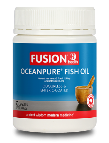 Fusion Oceanpure Fish Oil 60 CAPSUALS
