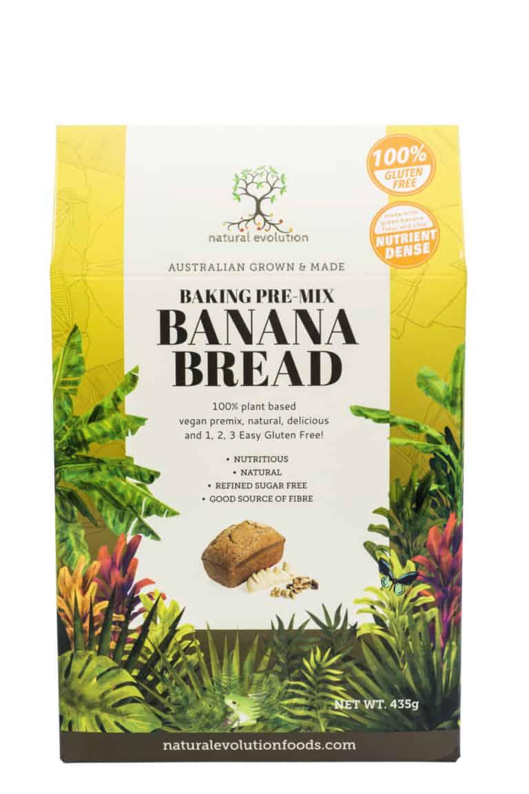 Natural Evolution Banana Bread Pre-Mix