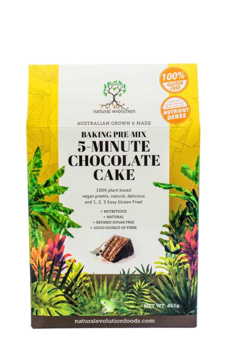 Natural Evolution 5 Minute Chocolate Cake Mix
