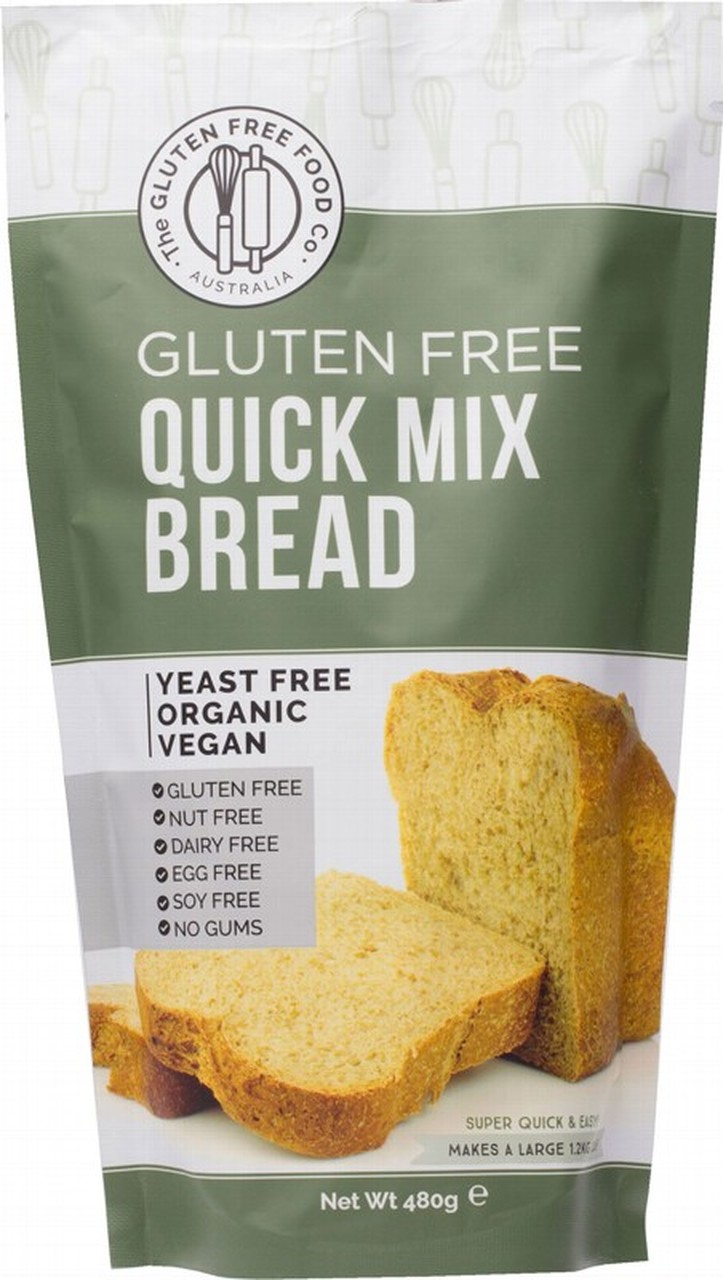 The Gluten Free Food Co Quick Mix Bread