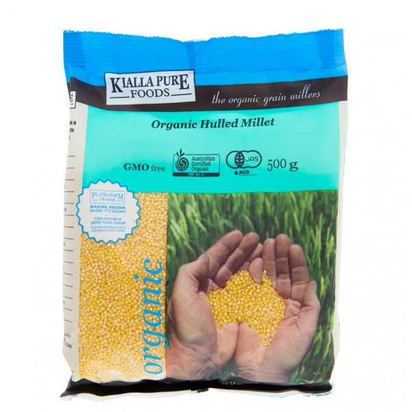 Kialla Pure Foods Organic Hulled Millet 500gm
