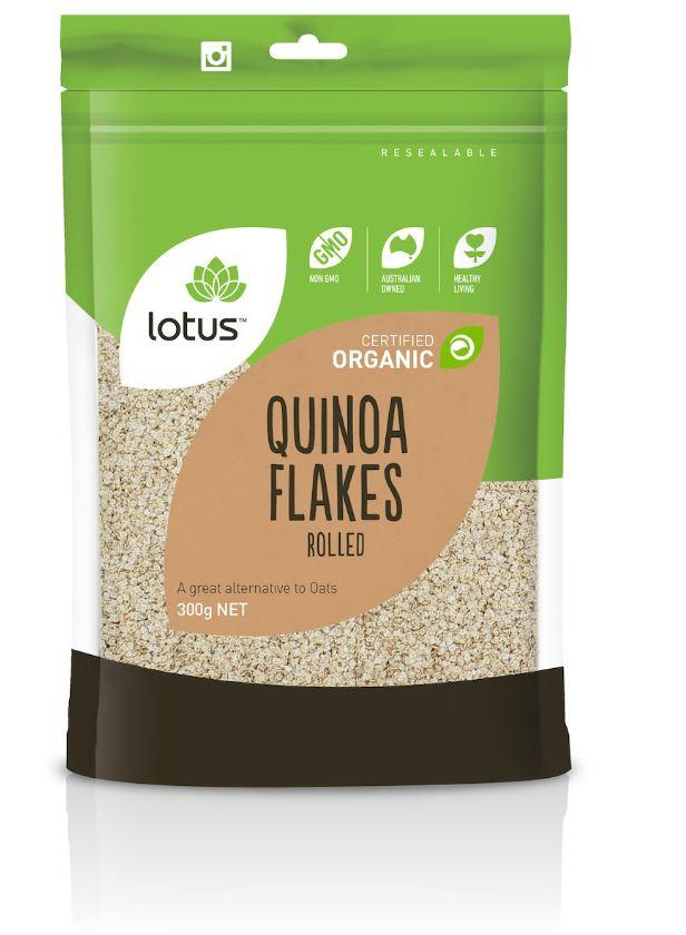 Lotus Organic Quinoa Flakes 300g