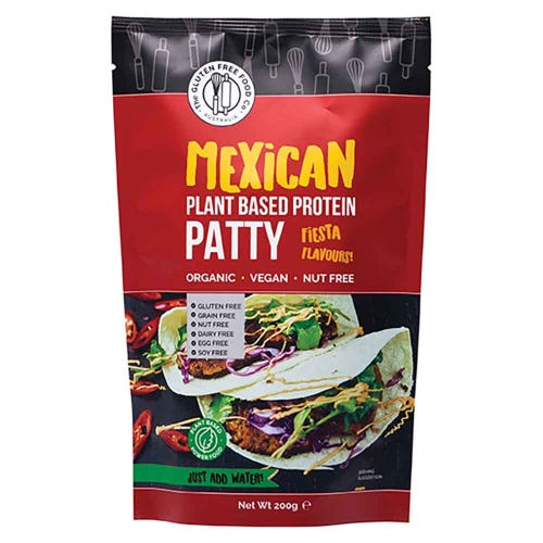Gluten Free Food Co Mexican Plant Based Protein Patty