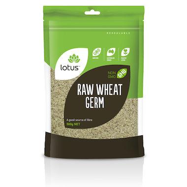 Lotus Raw Wheat Germ 500gm