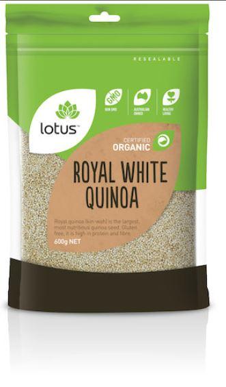 Lotus Royal White Quinoa 300gm