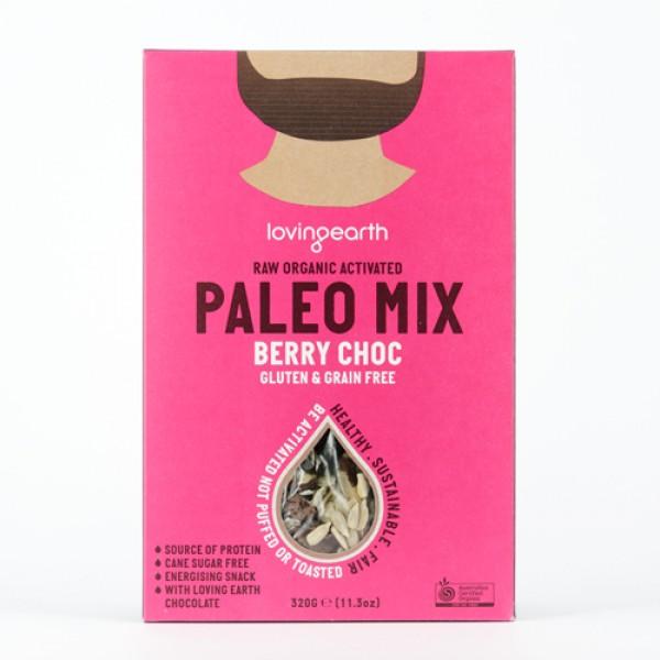 Loving Earth Paleo Mix Berry Choc 320gm