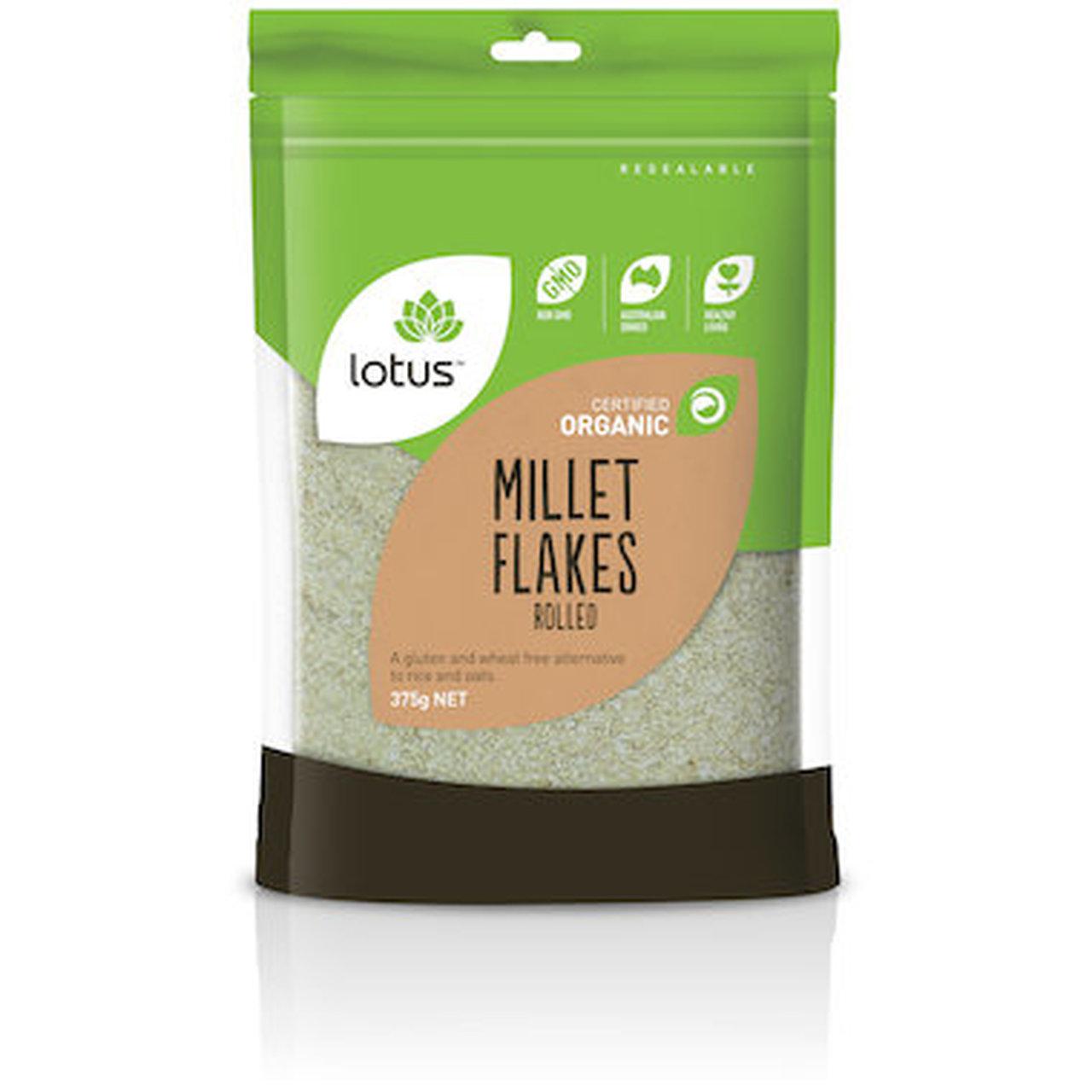 Lotus Millet Flakes Rolled 375g