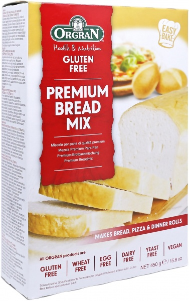 Orgran Premium Bread Mix