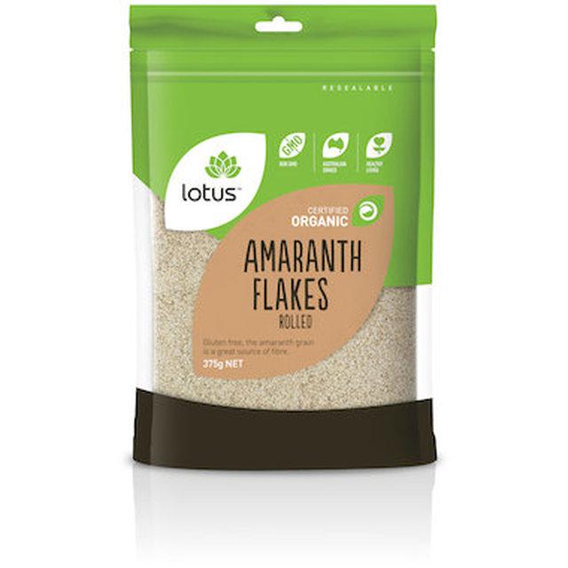 Lotus Organic Amaranth Flakes 375gms