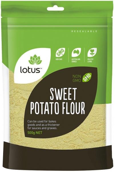 Lotus Sweet Potato Flour 500gm
