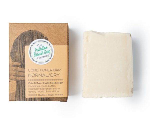Australian Natural Soap Company Solid Conditioner Bar Normal/Dry