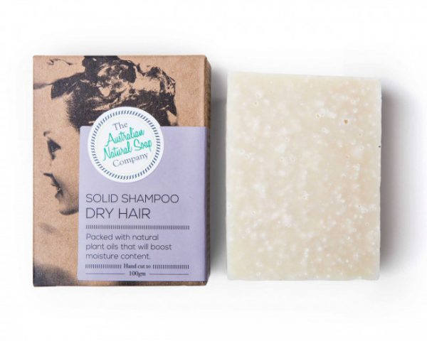Australian Natural Soap Company Solid Shampoo Bar Sensitive/Oily