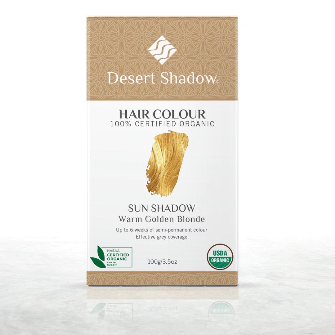 Desert Shadow Sun Shadow Warm Golden Blonde