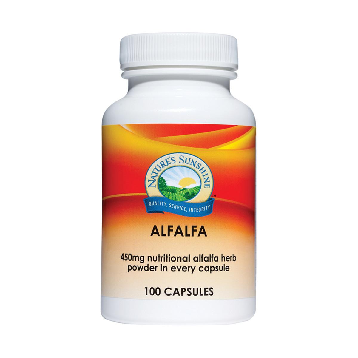 Nature's Sunshine Alfalfa 450mg 100c