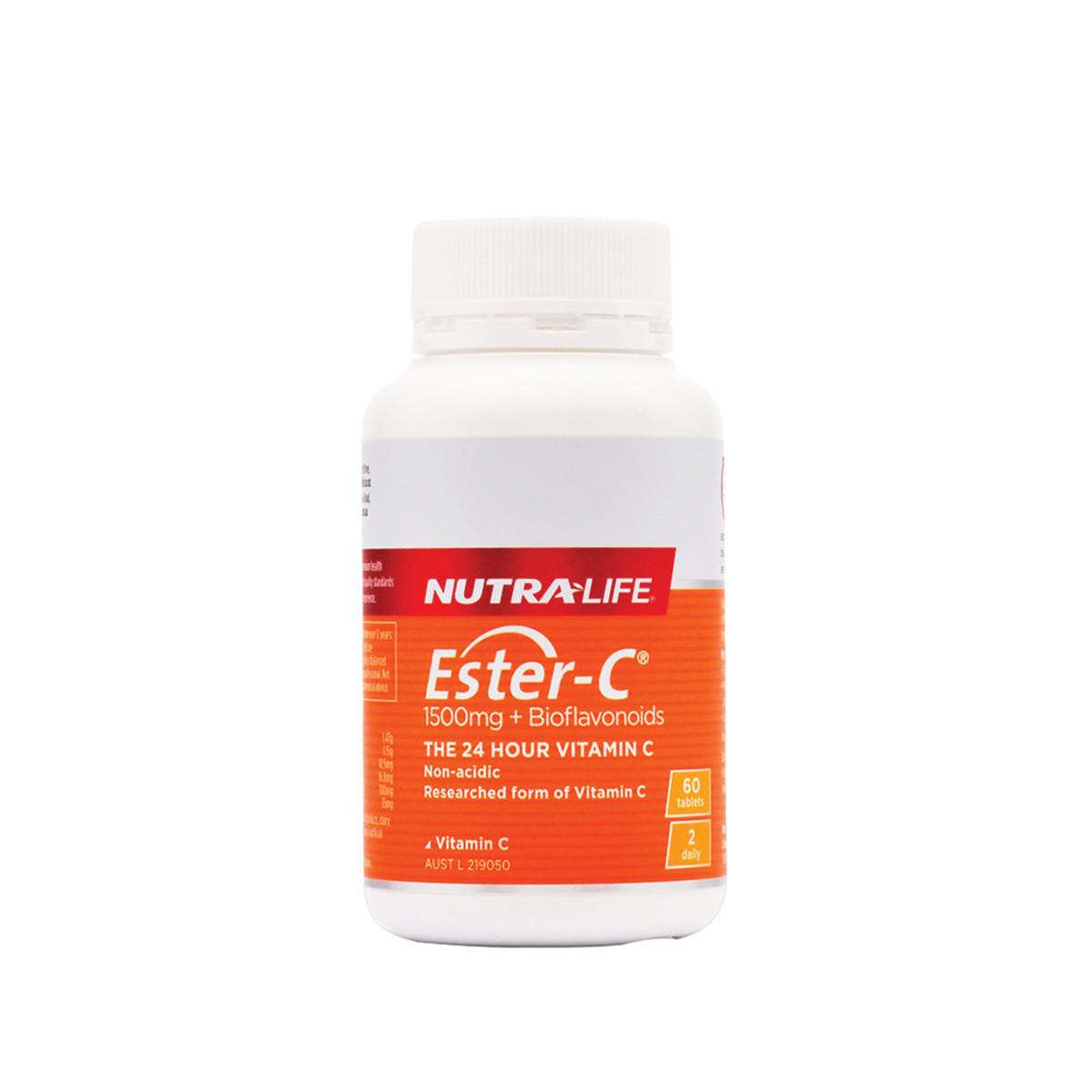 NutraLife Ester-C 1500mg + Bioflavonoids 60t