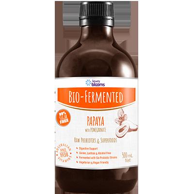 Henry Blooms Bio-Fermented Papaya With Pomegranate 500 ML