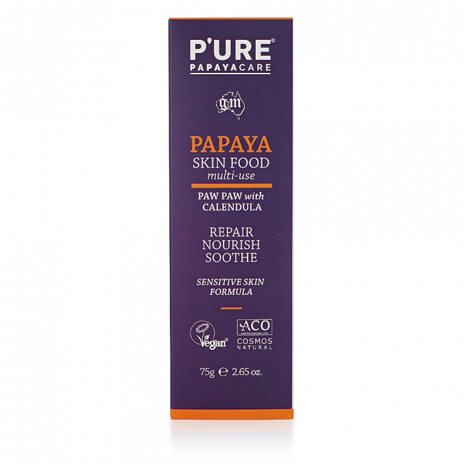 P'URE Papayacare Papaya Skin Food 75gm