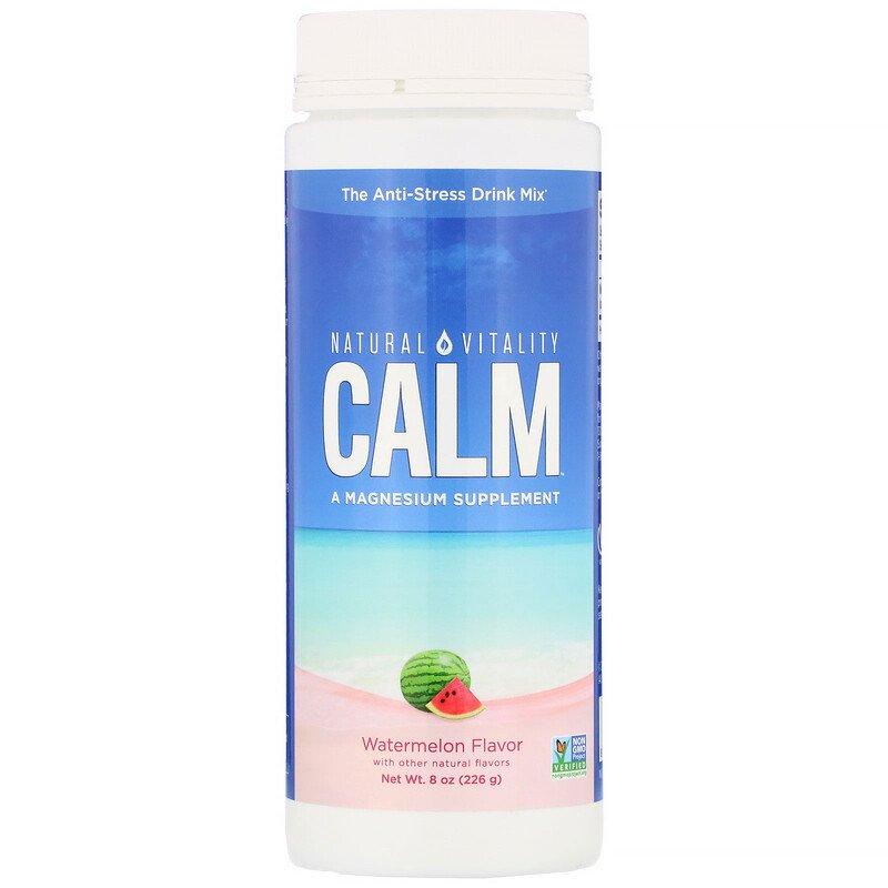 Natural Vitality CALM Magnesium Supplement 226gm