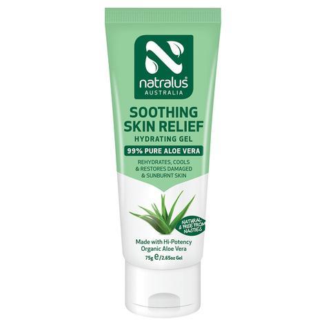 Natralus Soothing Skin Relief Aloe Vera Gel 75gm