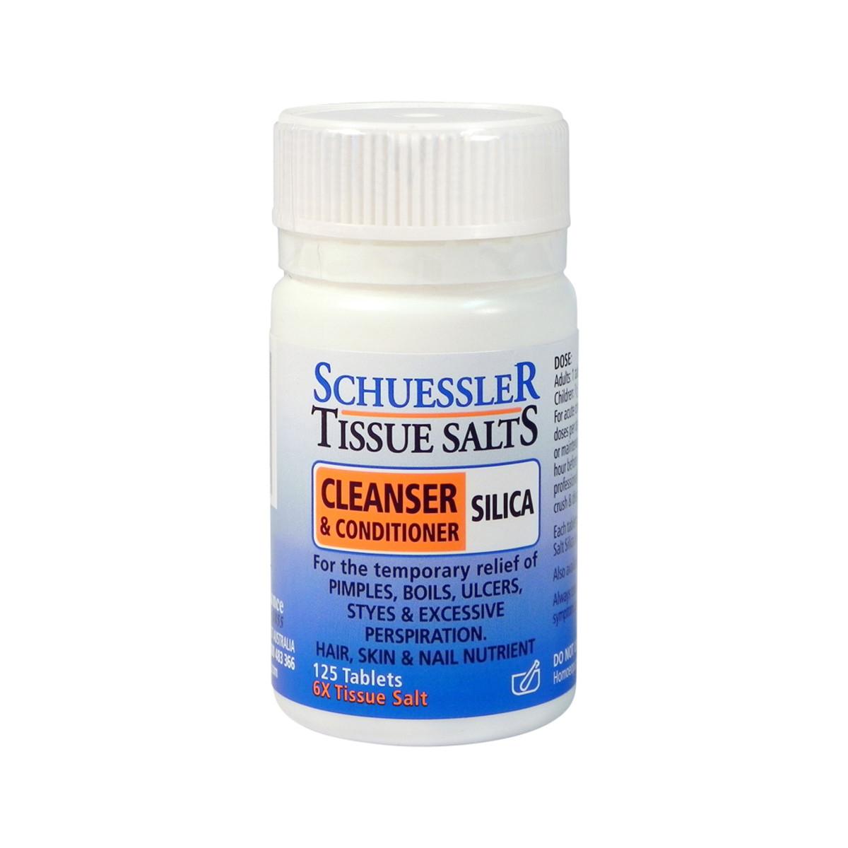 Schuessler Tissue Salts Silica (Cleanser & Conditioner) 125t