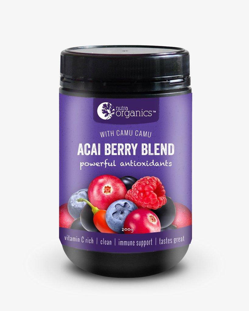 Nutra Organics Acai Berry Blend 200gm