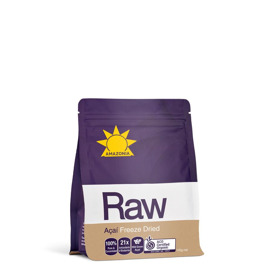 Amazonia Raw Acai Freeze Dried 145 Gm