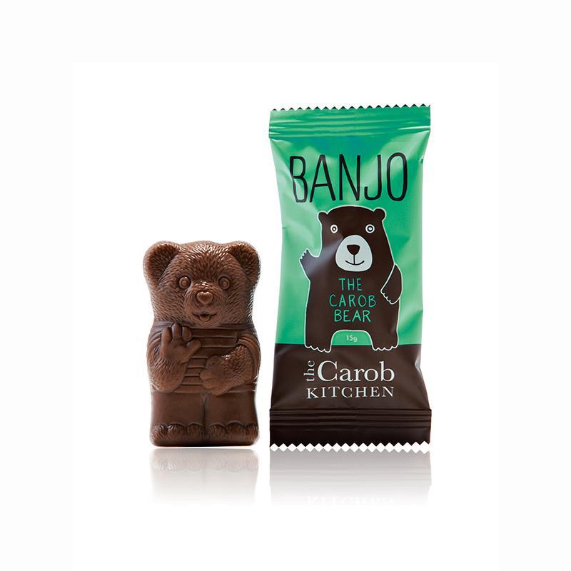 Carob Kitchen Banjo Mint Carob Bear 15g