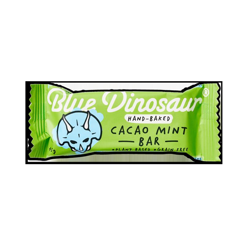 Blue Dinosaur Cacao Mint Snack Bar 45g