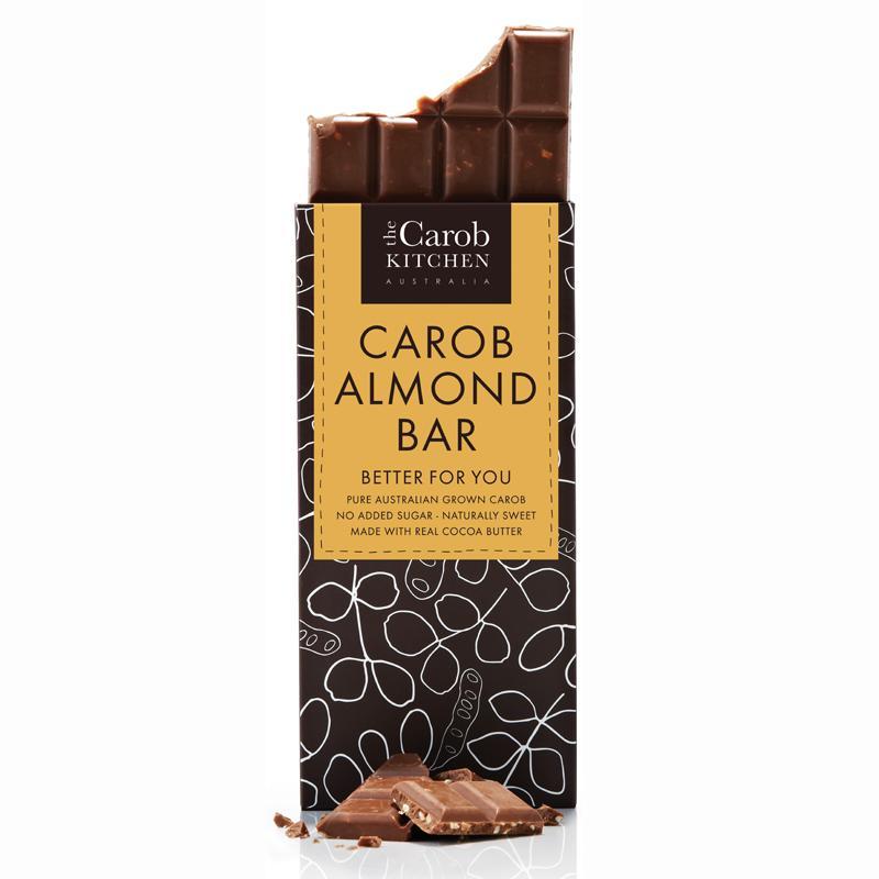 Carob Kitchen Carob Almond Bar 80g