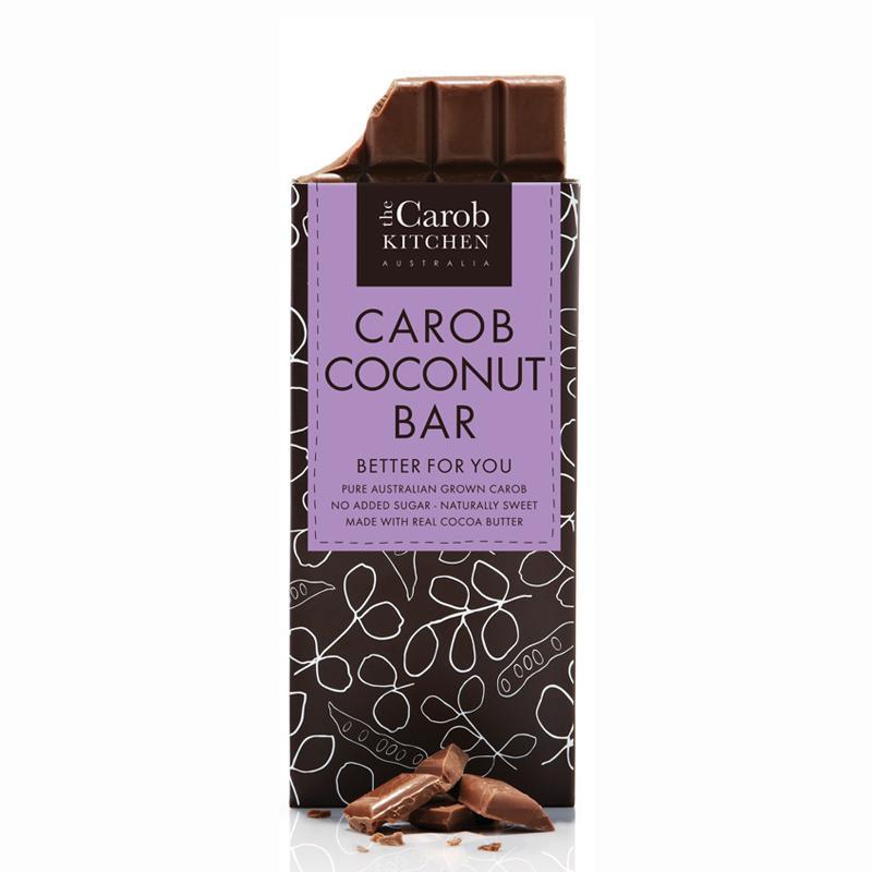 Carob Kitchen Carob Coconut Bar 80g