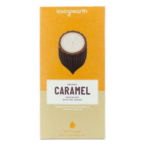 Loving Earth Caramel Chocolate Bar 80g