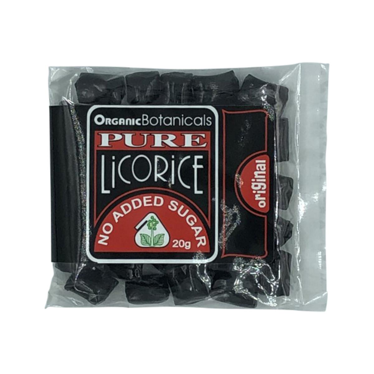 Organic Botanicals Pure Licorice 20g