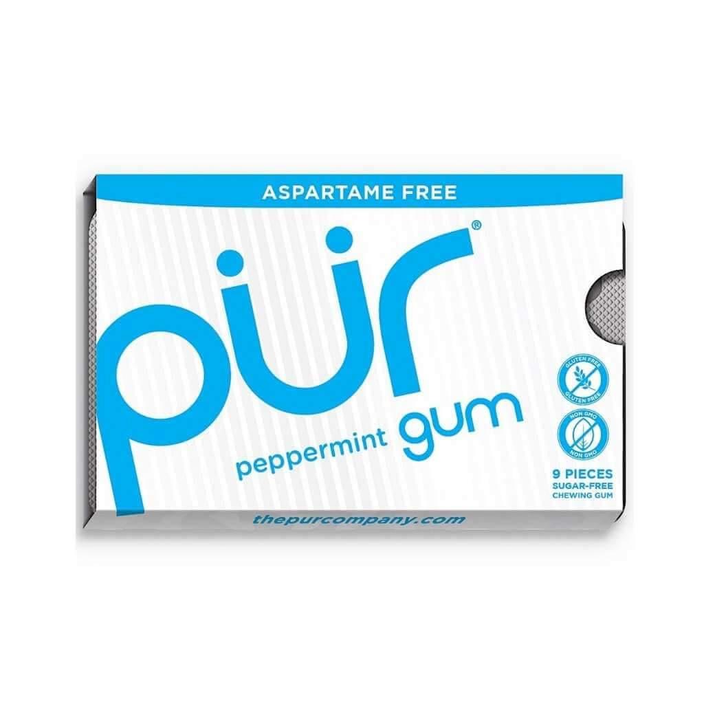 Pur Gum Peppermint 9 Pieces