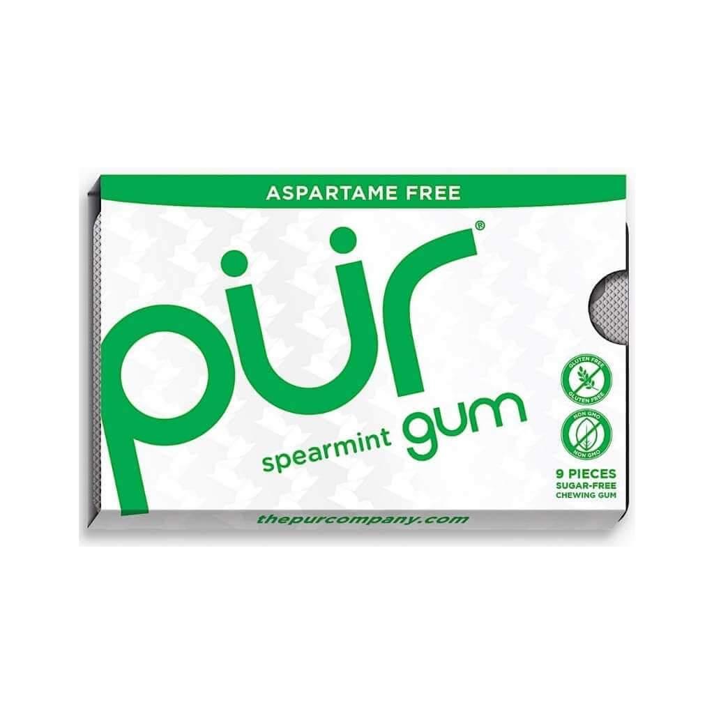 Pur Gum Spearmint 9 Pieces