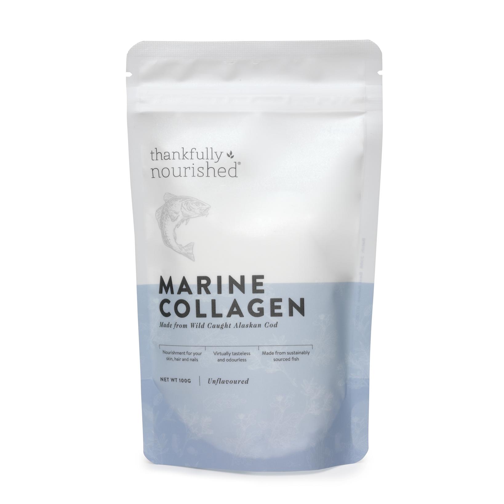 Thankfully Nourished Marine Collagen 100gm